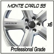 CHEVROLET MONTE CARLO CAR WHEEL DECALS